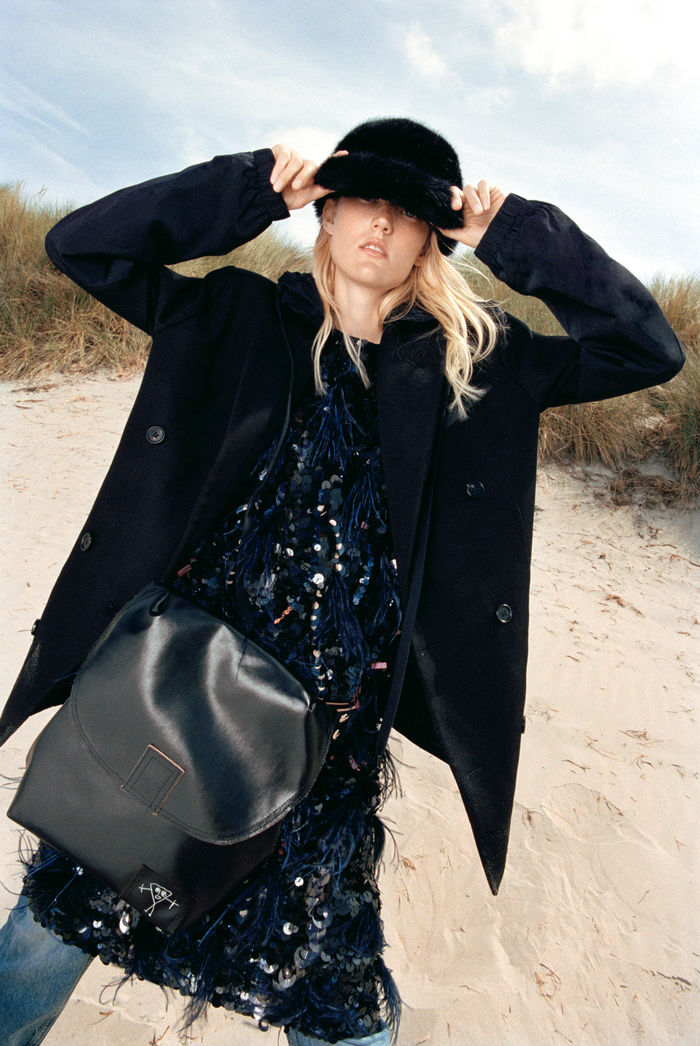 Glamour Germany October Issue by Rosaline Shahnavaz