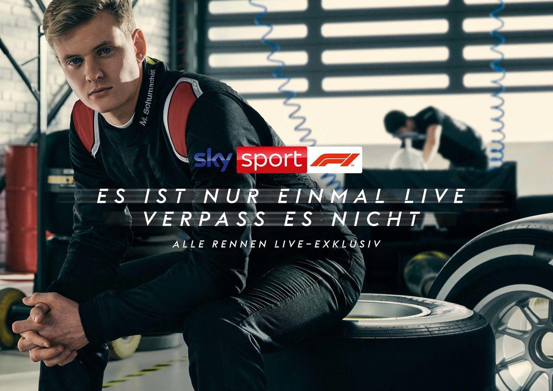 BLINK IMAGING | Philipp Rathmer for Sky | Formular 1 Campaign | Mick Schumacher