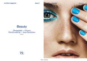 BIGOUDI Anne Henrichsen für So Blue Magazine