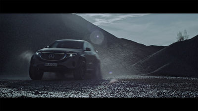 UPFRONT PHOTO & FILM GMBH: Jan Eric Euler for Mercedes-Benz // EQC 4x4 Wakeboard // DC