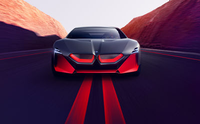 """SEVERIN WENDELER:  """"BMW Vision M Next"""" Photography by Agnieszka Doroszewicz"""