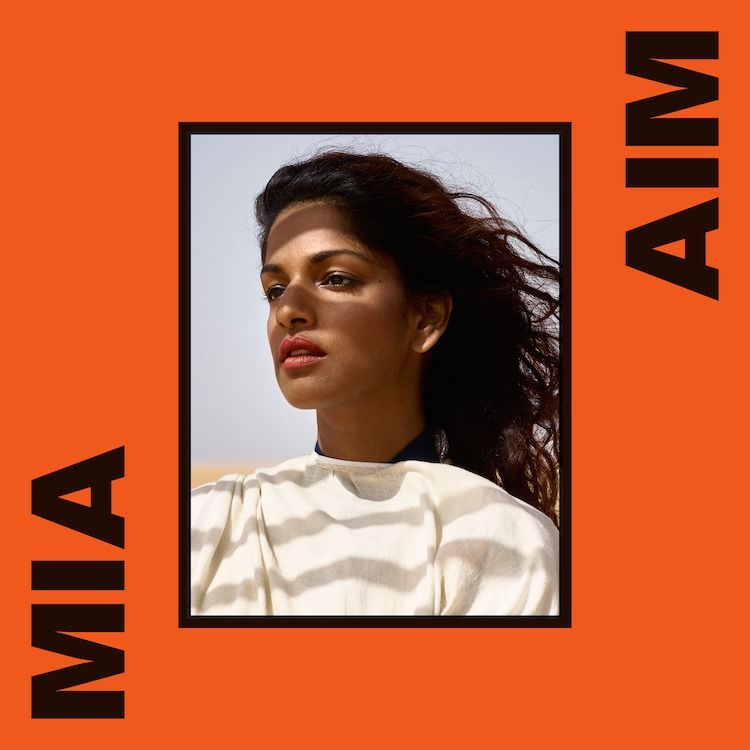 An album cover shoot for MIA shot in Senegal by Vivianne Sassen