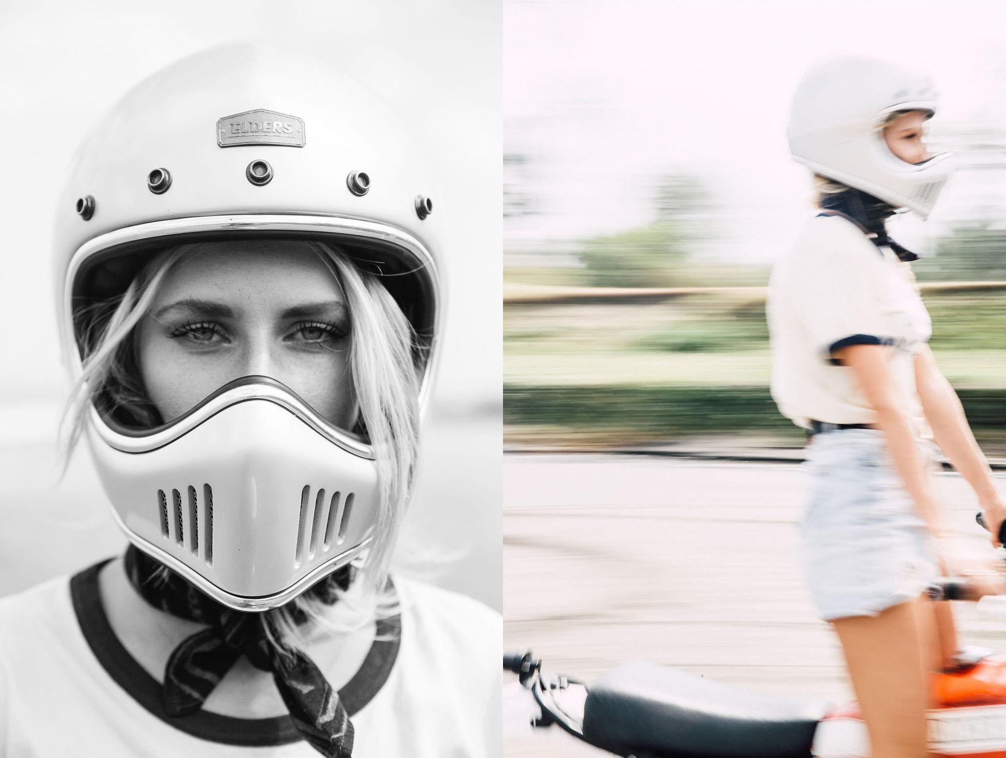 ALYSSA PIZER MANAGEMENT: Moto Girl By Vivian Kim