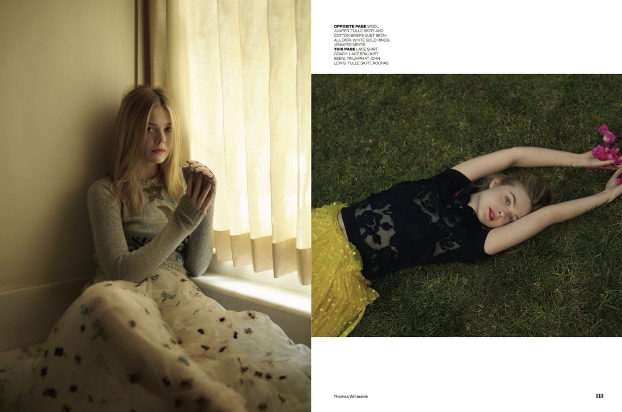 Elle Fanning for ELLE UK