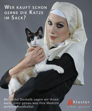AGENTUR ROUGE : ELE Kittl for KLOSTERAPOTHEKE MÜNCHEN