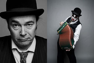 ROCKENFELLER & GOEBELS : Thomas RUSCH for TIGER LILLIES FREAKSHOW