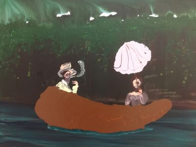 ALMINE RECH GALLERY PARIS : Genieve Figgis ' Wish you were here'