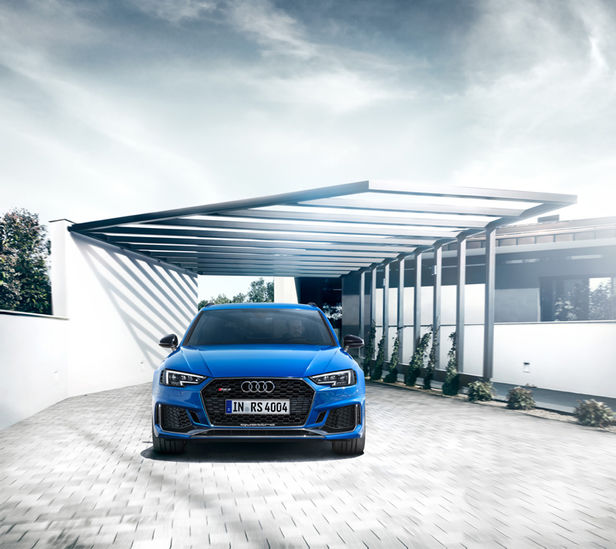 CLAAS CROPP CREATIVE PRODUCTIONS: JÜRGEN BERDEROW FOR AUDI RS4