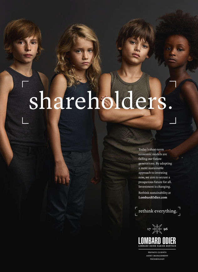 Lombard Odier Campaign by Achim Lippoth