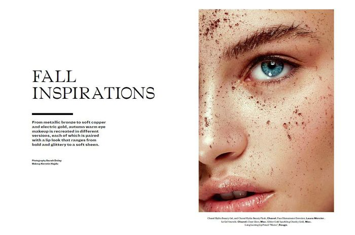 EAST WEST MODELS: Exclusive East West Model: Johanna S. FOR L'OFFICIEL MIDDLE EAST BY SARAH DULAY