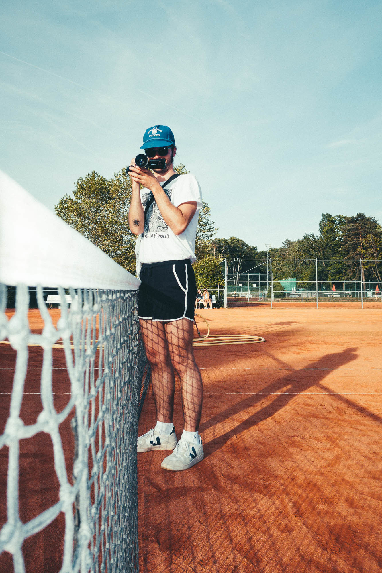 BÜCHSEN OPEN (HARD COURT VIBES) by Florian SCHÜPPEL c/o MARLENE OHLSSON PHOTOGRAPHERS