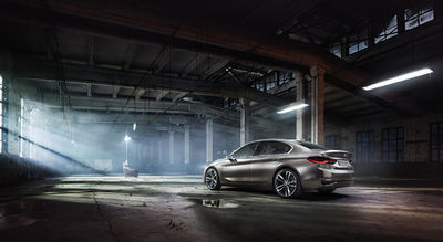 BMW GROUP : BMW Conecept Compact Sedan