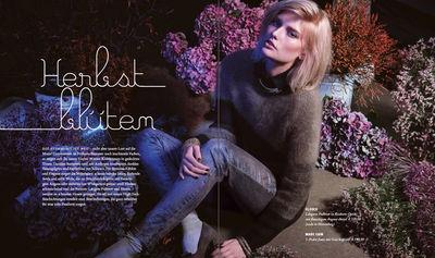 NINA KLEIN : Natalia WITSCHKE for ZINSER