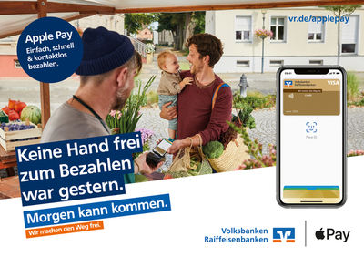 EMEIS DEUBEL, Autumn Sonnichse, Volks- und Raiffeisenbanken, apple pay