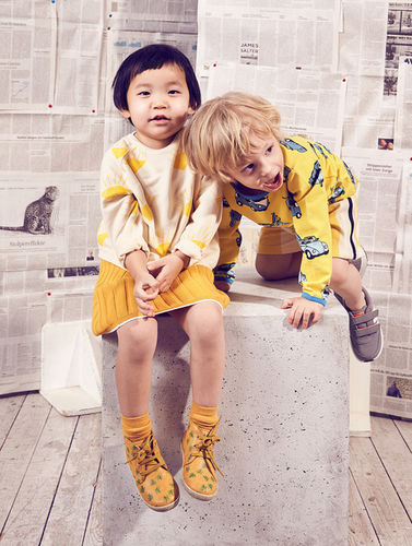 YELLOW FASHION EDITORIAL FOR ELTERN BY MIRIAM LINDTHALER