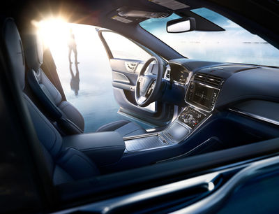 RAY BESPOKE photographs Lincoln Continental Launch Campaign