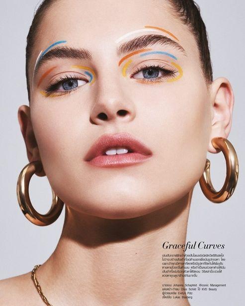 JOHANNA SCHAPFELD c/o ICONIC for Harper's Bazaar Thailand - Between the Lines
