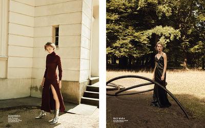 BIGOUDI: Yvonne Wengler für Harpers Bazaar