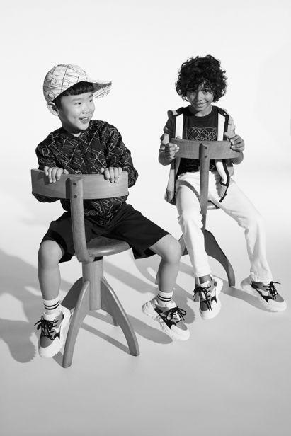 Emporio Armani Junior ADV Spring Summer '21 Collection by Achim Lippoth