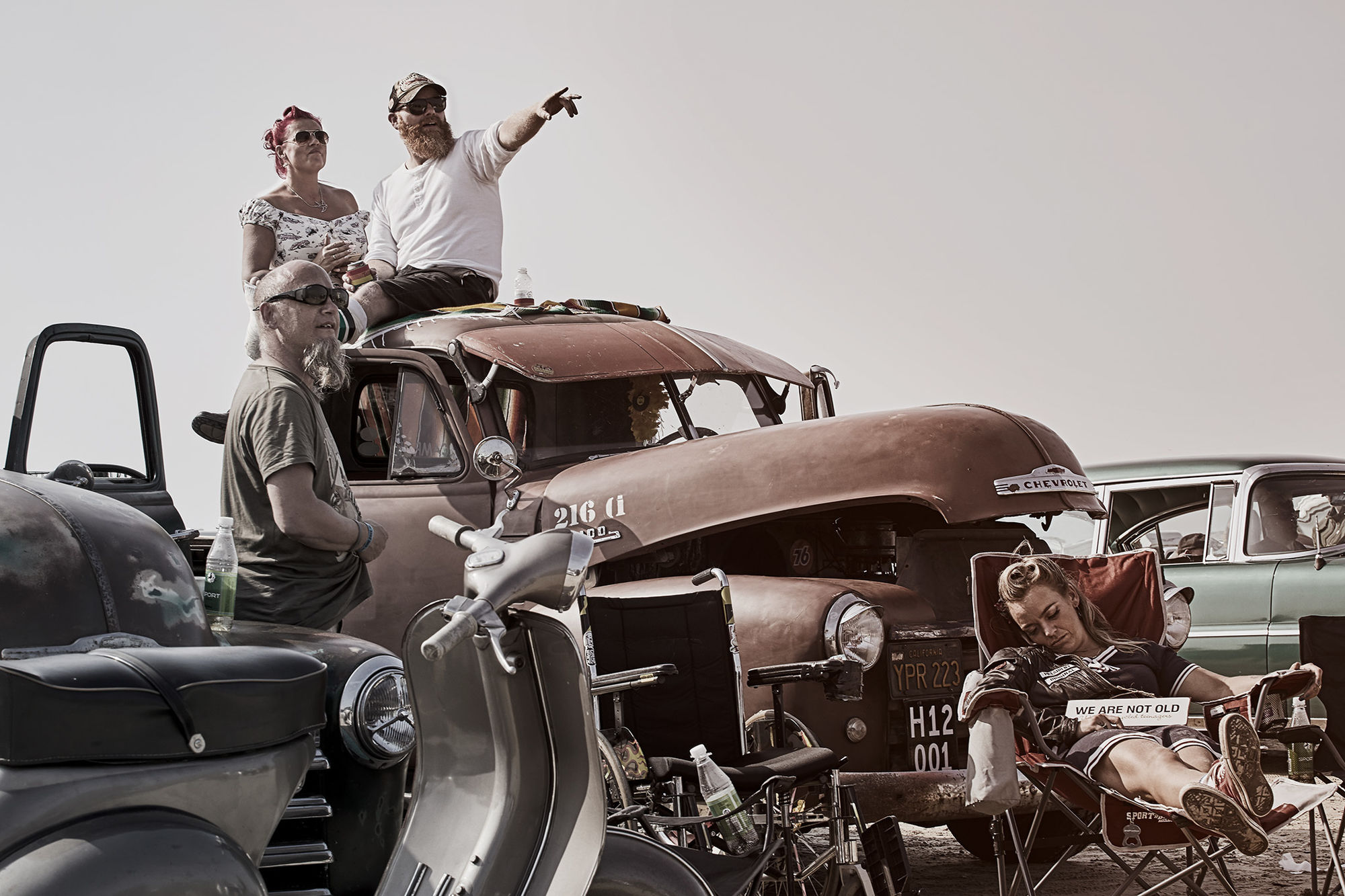 """MANU AGAH PHOTOGRAPHY - """"GET READY, PULL UP!"""" Personal work at the Rømø Motor Festival, Denmark"""
