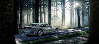 CURTET.COM for PEUGEOT Exalt concept car