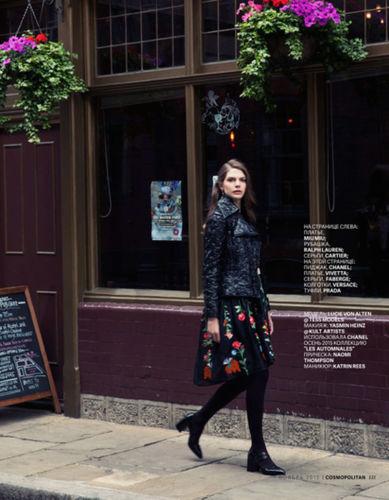 MD MGMT: Lucie von Alten for Cosmopolitan