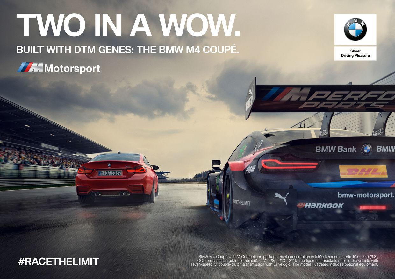 RECOM CGI : BMW Motorsport Campaign