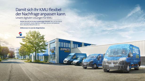 Swisscom Kampagne