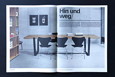 THOMAS VON SALOMON for JANUA MAGAZIN