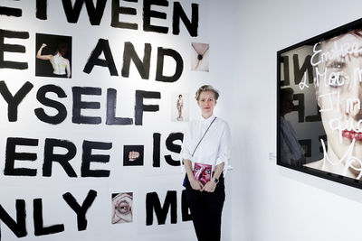"""Susanne Junker and her art works """"Sofia Sept, between me and myself there is only me ©PORTRAIT-PAROLE"""