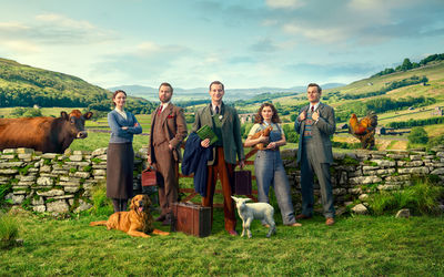 TODD ANTONY : campaign for Channel 5's new series of 'All Creatures Great and Small'