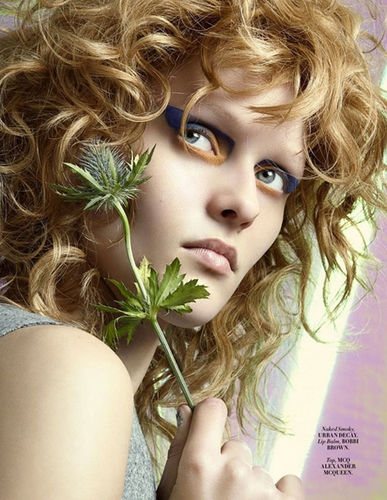 BLOSSOM MANAGEMENT: Melanie Schoene (hair & make-up) für L'Officiel (Malaysia)
