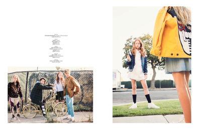 ALYSSA PIZER MANAGEMENT: Gretchen Easton for Hooligans Magazine