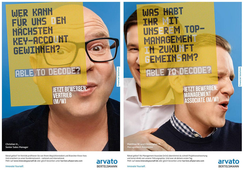 HAUSER FOTOGRAFEN: MARTIN BÜHLER für ARVATO