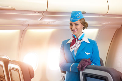 On-board shooting for Eurowings