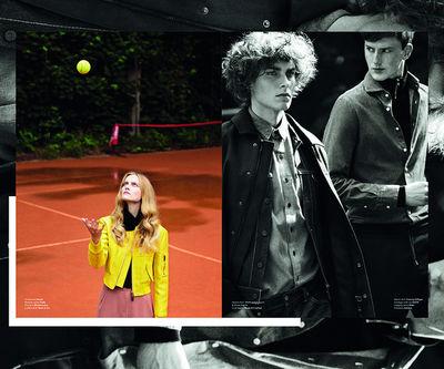 Tennis a trois, JN'C magazine