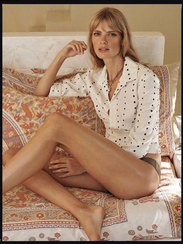 Julia Stegner for Porter Magazine shot by Benny Horne