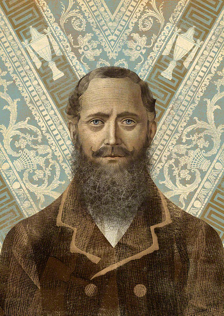BALBUSSO TWINS Lord Stanley - Portrait for the book The History of the Merrion Hotel, Design HQ, Ireland