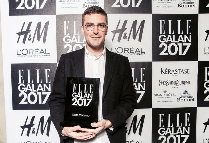 Johnny Kangasniemi c/o LUNDLUND : 'Photographer of the Year' at the swedish Elle awards