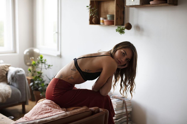 "Lena Burmann, ""Daphne"" personal work"