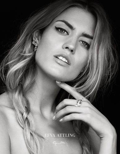 ASA TALLGARD for EFVA ATTLING Jewelry Campaign 2016/2017