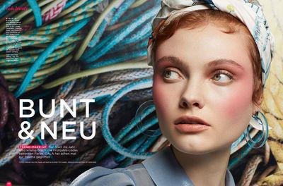 NINA KLEIN,Adelaida Cue Baer, Spiel der Kontraste, Gala Beauty