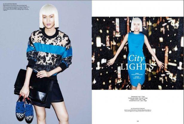 VIVA MODELS: Gwen Lu for Kadewe Magazine S/S 2015