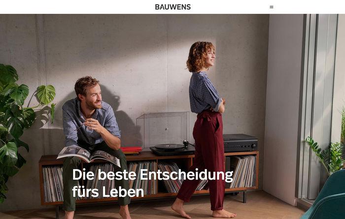 Ruben Riermeier für Bauwens, Agentur Crolla Lowis