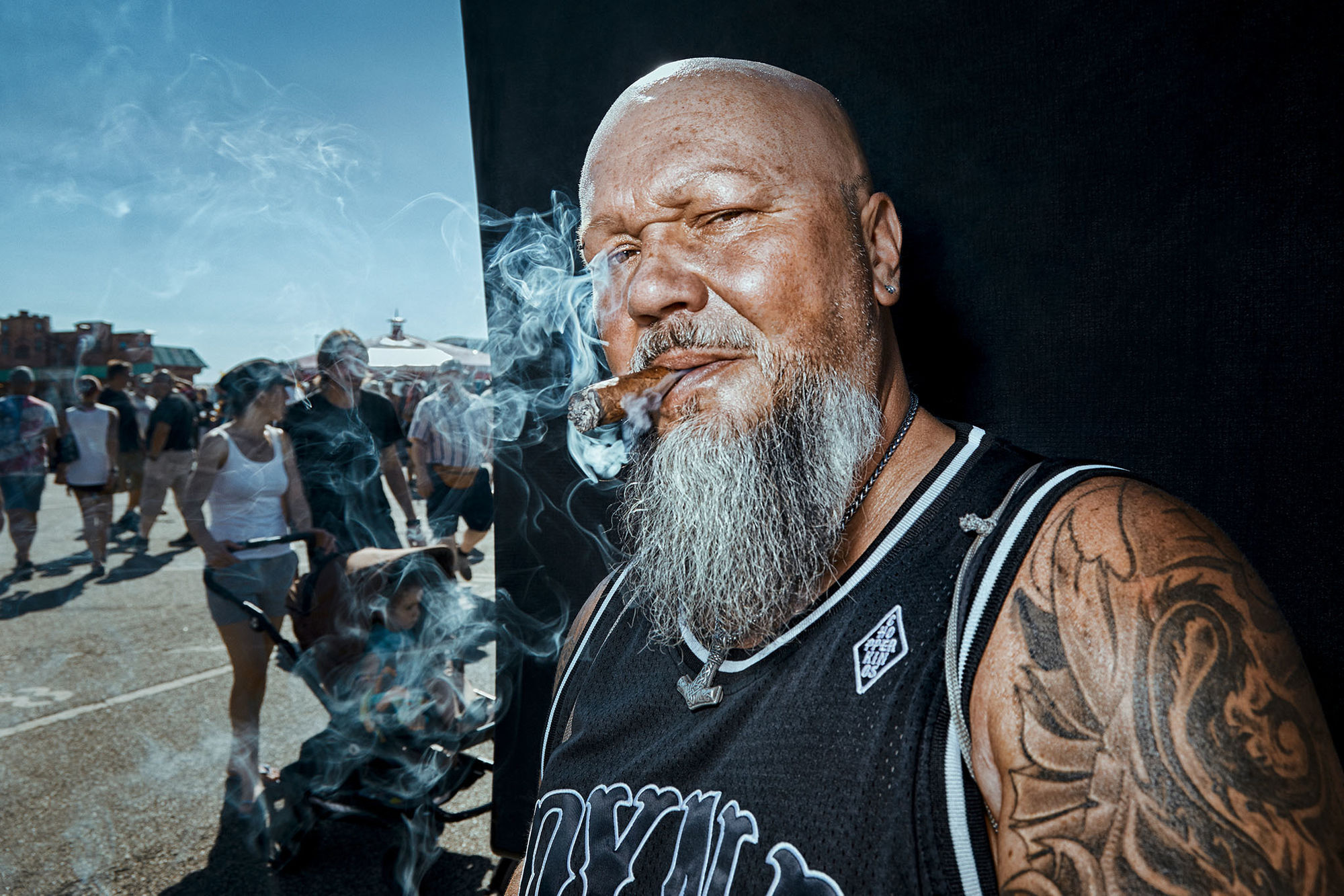 "MANU AGAH PHOTOGRAPHY - Portrait shoot ""TOUGH GUYS"" - Personal work"
