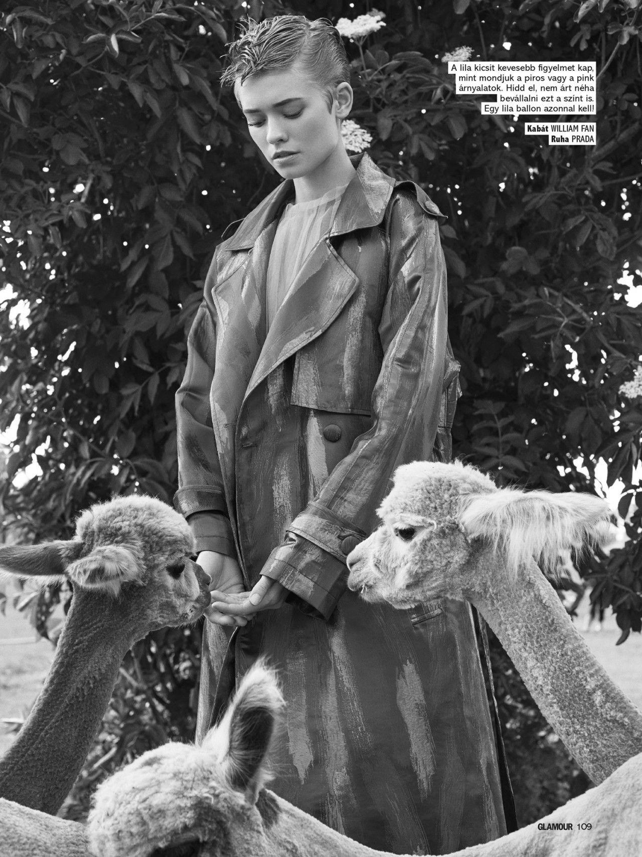 COSMOPOLA   Glamour Magazine -  FRAUKE FISCHER