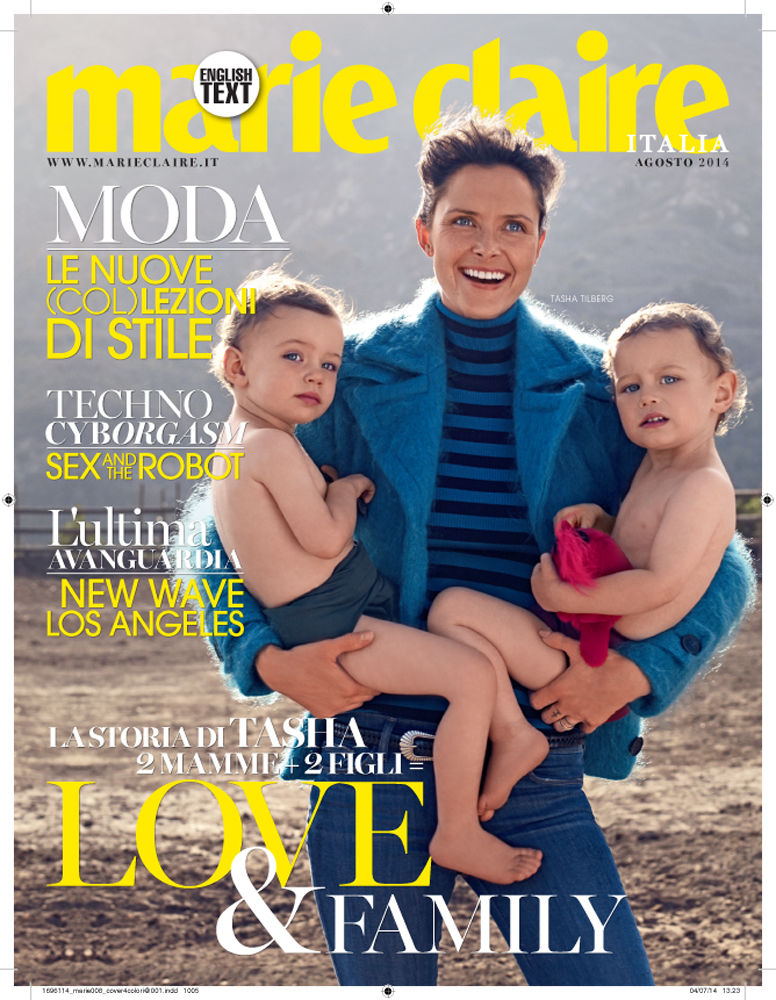 Mel Karch for Marie Claire Italy / special issue