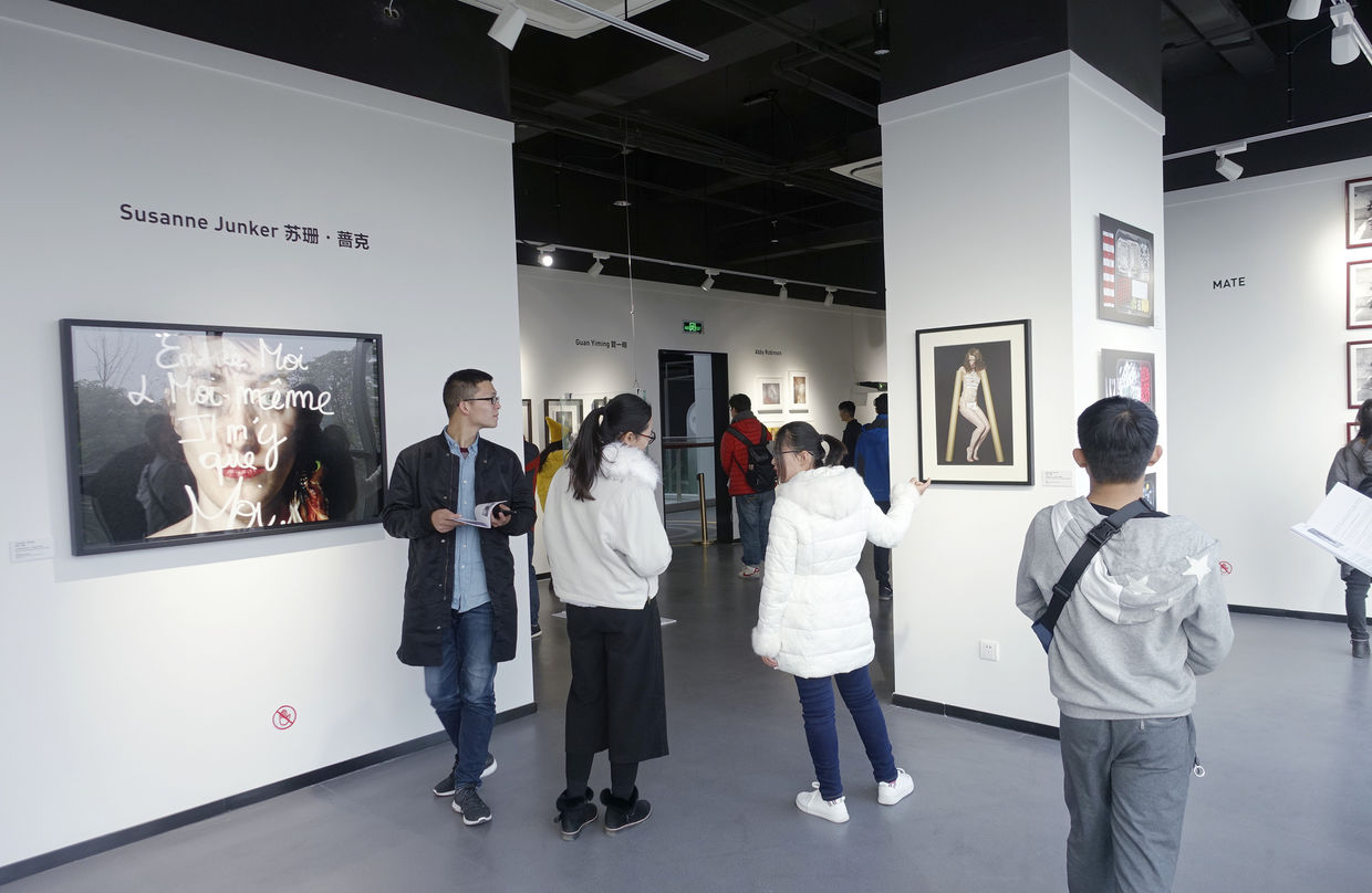 'WhyWhyArt at Chic Oasis', exhibition in Nanjing City - travel report by SUSANNE JUNKER