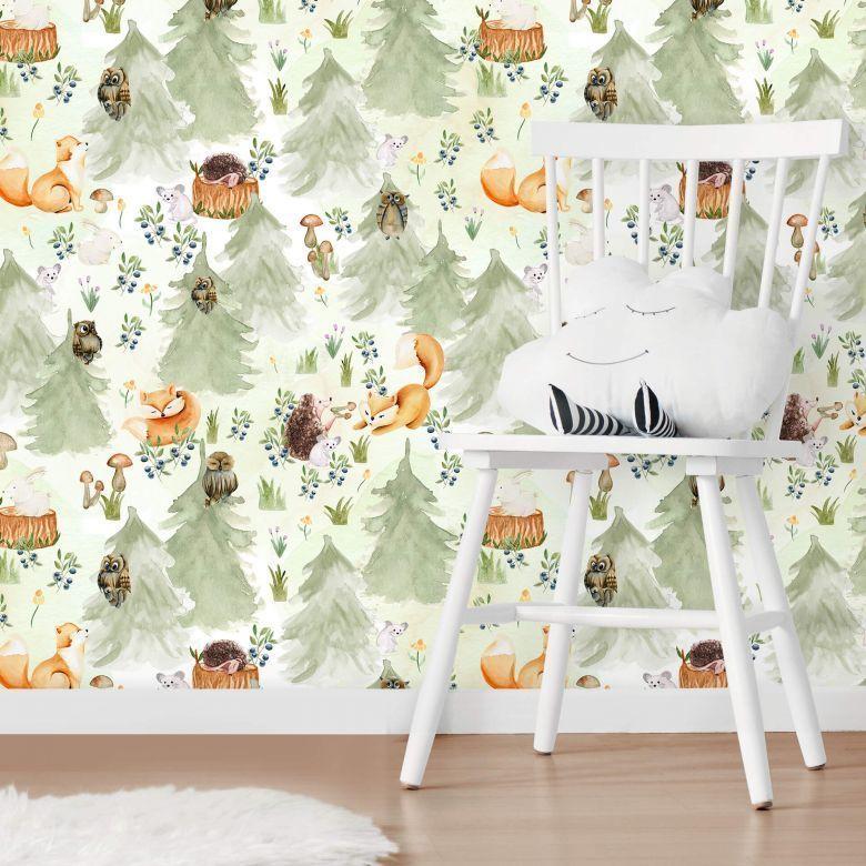 Mustertapete UN Designs - Frühlingsblüten Entdecken Sie zeitlos florale Motive als Mustertapete! von UN Designs https://www.wall-art.de