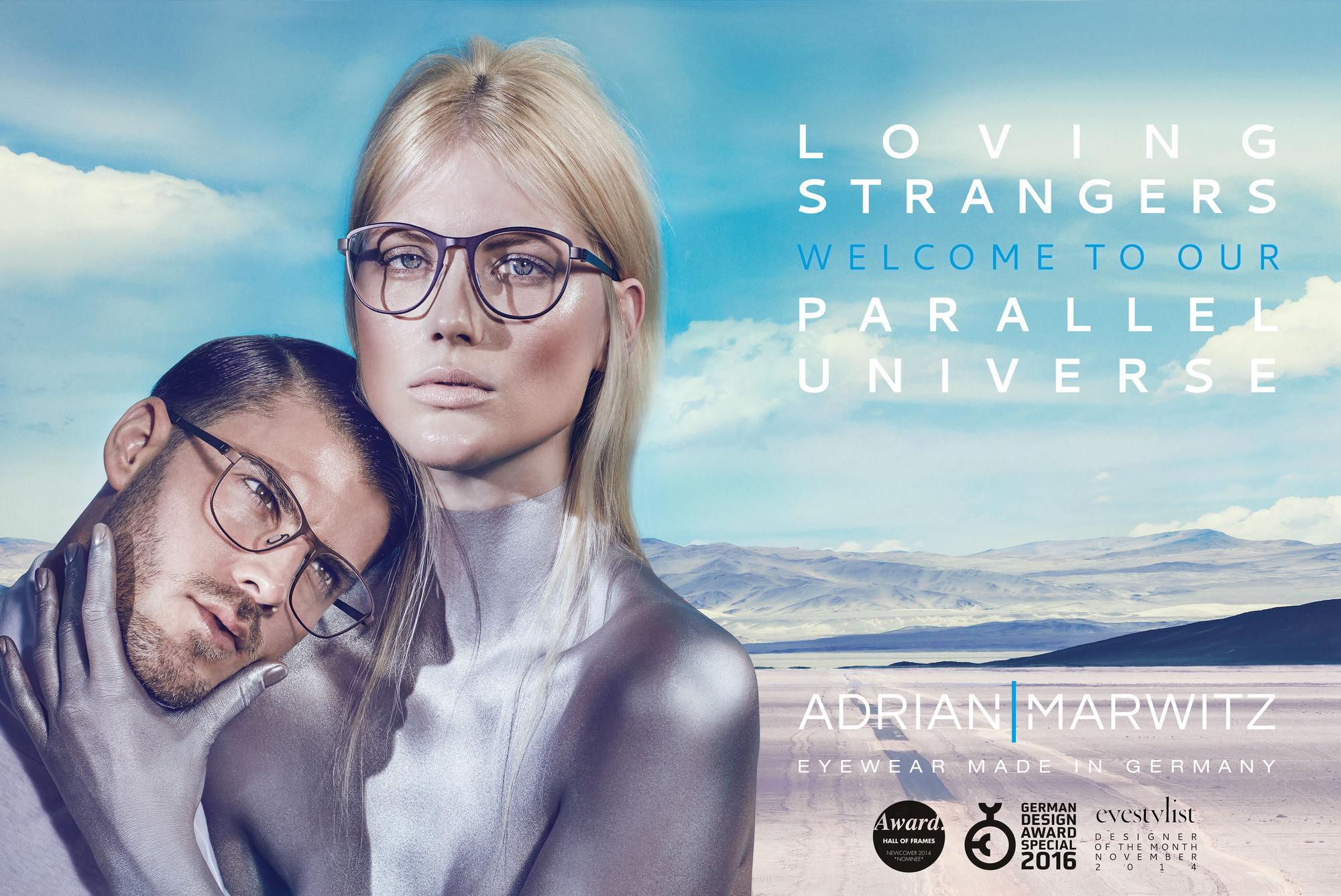 SACHA TASSILO HöCHSTETTER for Adrian Marwitz eyewear